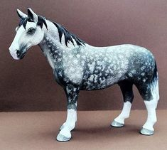Diy Horse Toys, Horse Tack Rooms, Horse Stables, Schleich Horses Stable, Clydesdale Horses, Breyer Horses, Barrel Racing Saddles, Barrel Racing Horses, Western Pleasure Horses