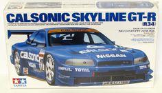 Calsonic Skyline GT-R Tamiya kit #24219 - 1/24 scale - Discontinued.