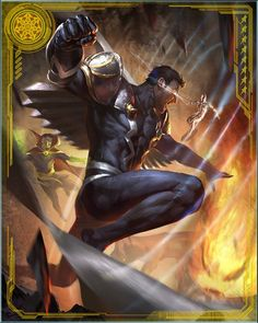 Black Bolt, adding his power to the Defenders' established line-up of arcane powerhouses, gave the team a new dimension of power against the dread Dormammu…
