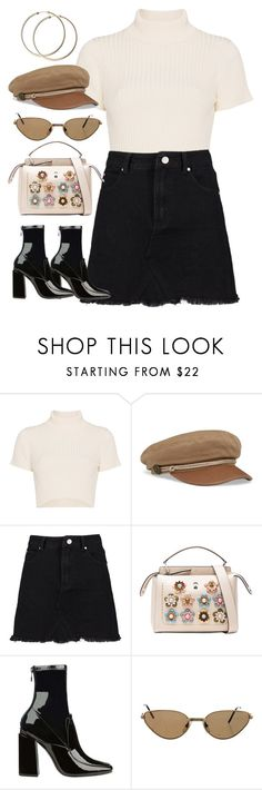 """Sin título #1427"" by osnapitzvic ❤ liked on Polyvore featuring Staud, Fendi and Cartier"