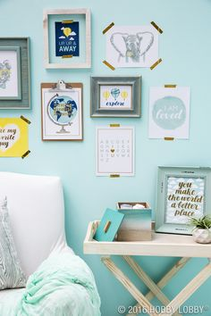 Bring the gallery wall of your dreams to life with perfectly paired, ready-to-go wall art.