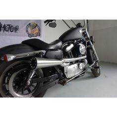 Drag Specialties Chrome Rear Fender Struts 1994-2003 Harley XL Sportster Models