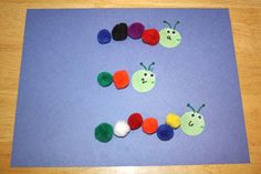 Caterpillar Counting Craft  and 9 other crafts to teach kids numbers!