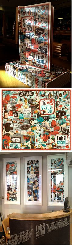 These menu designs reflect a certain graphic aesthetic that is mirrored in the furniture, décor, business cards, letterheads, cutlery, etc. They represent businesses who really know how to present a united and beautiful image to attract customers. - See more at: http://blog.nextdayflyers.com/art-of-the-menu-10-of-the-most-inspiring-menu-restaurant-brandings/#sthash.F1eFSu5S.dpuf