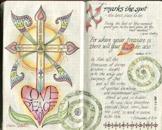 """visual blessings: All of """"An A to Z of Me"""" Moleskine Journal Pages"""