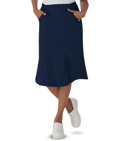 c9a1366c07b Butter-Soft Scrubs by UA Elastic Waist Flared Skirt. Uniform ...