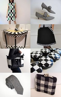 Black and White Check - Trend for February 2013  All this needs is a houndstooth FabTabStrap. Super chic!  http://fabtabstrap.com/collections/ipad-mini-collection/products/houndstooth#.URl3OxG9KSM
