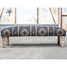 An eye-catching ottoman upholstered in a natural jute. The colour and design of this chair would fit effortlessly into a wooden chalet environment. A co-ordinationg Aztec Armchair is available. Chalet Interior, Snowy Weather, Ski Chalet, Diy Headboards, Upholstered Ottoman, Wood Interiors, Dream Homes, Jute, Upholstery