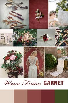 Festive Wedding Inspiration