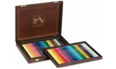 Caran d'Ache Pablo Permanent Pencil and Supracolor Soft Watercolor Pencils in A Wood Box, 30 Color Assortment Caran D'ache, Home Office Lighting, Outdoor School, Gloss Lipstick, Outdoor Lounge Furniture, Watercolor Pencils, Furniture For Small Spaces, Writing Instruments, Wood Boxes