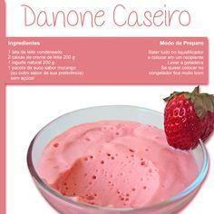 Que tal uma deliciosa receita de Danone Caseiro!!  Fique de olho em nossas postagens (;
