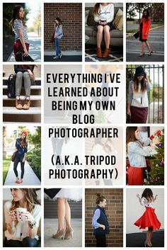 EVERYTHING I'VE LEARNED ABOUT BEING MY OWN BLOG PHOTOGRAPHER (AKA TRIPOD PHOTOGRAPHY TIPS)