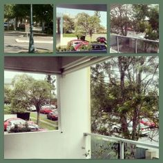 Day 9 | My view today |    A bit of a collage from my verandah