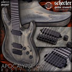 🔥☠️🔥 APOCALYPSE C-7 RUSTY GREY Also available in  C-1, C-1 FR, C-1 FR S CLICK OUR BIO LINK FOR MORE 🔥🔥🔥🔥 #guitar #guitars #guitarist #guitarists #guitarplayer #guitarplayers #guitarplaying #guitarfreak #guitarfreaks #guitarlove #guitarlover #guitarlovers #guitarplayersunite #music #musician #musicians #band #bands #metal #rock #metalhead #metalheads