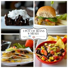 Get these four meals from one pot of beans