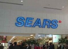Entering SEARS outlet store