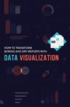 No more dull business reports! Data visualization design ideas for human resources, marketing, sales, tech teams Visual Learning, Learning Centers, Web Design Trends, Design Ideas, Data Visualization Tools, Graphic Design Resume, Information Overload, Newspaper Design, Business Intelligence