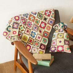 kraso [クラソ]|自由に組み合わせてアレンジ カラフルコットン糸のモチーフ編みの会|フェリシモ