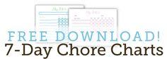 Download Chore Charts