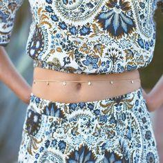 Vita Circle Belly Chain