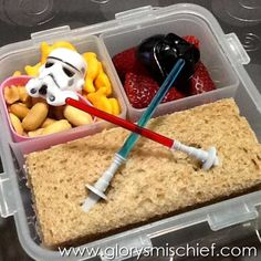 Star Wars School Lunch