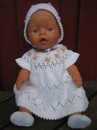 Billedresultat for baby born strikkeoppskrifter