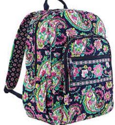 Designed book bag