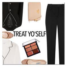 """""""It's Time to Treat Yo'Self!"""" by danielle-487 ❤ liked on Polyvore featuring Gucci, Prada, Equipment and treatyoself"""