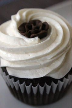 Melt in your Mouth Chocolate Cupcakes...Best cupcake recipe I've looked over and impressed by (