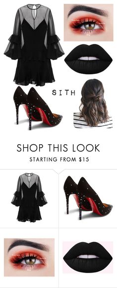 """Sith"" by emmyvislander on Polyvore featuring Alex Perry, Christian Louboutin and starwars"
