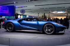 """It's called """"Liquid Blue"""" Ford GT-S Raptor Concept Car"""