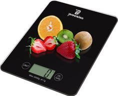 Procizion Digital Kitchen Food Scale - Designed for the culinary perfectionist who desires superior accuracy and beautiful design, this food scale is one of the lightest kitchen scales on the market and offers easy portability.