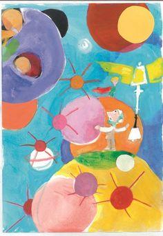 Με μεγάλη επιτυχία εγκαινιάστηκε η ατομική έκθεση ζωγραφικής του Αλέξη Κυριτσόπουλου, με τίτλο «Ο Αλέξης Κυριτσόπουλος ζωγραφίζει τον Μικρό Πρίγκιπα και τον Αντουάν Ντε Σεντ – Εξιπερί», η οποία θα διαρκέσει έως και την Τρίτη 20 Δεκεμβρίου 2016. Πρόκειται για μία σειρά από ζωγραφικά έργα που δημιουργήθηκαν με στόχο να συντροφεύσουν το λογοτεχνικό έργο του … Tweety, Kids Rugs, Painting, Fictional Characters, Decor, Decoration, Kid Friendly Rugs, Painting Art, Paintings