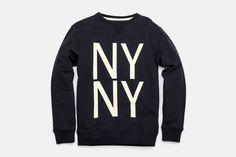 Bowery NY NY Crew Neck Sweatshirt