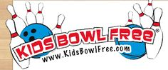 Sign up for Kids Bowl FREE at hundreds of bowling alleys nationwide. Kids get two games of bowling every day all summer long!