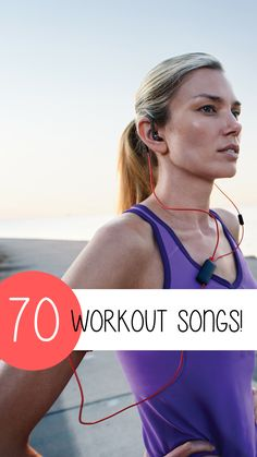Check out these amazing workout songs! There's nothing more motivating than having the ultimate workout playlist. Below we have listed 70 songs – some new and some old – that will get you off the couch and into the gym! to listen to Best Workout Songs, Workout Music, Fun Workouts, Gym Songs, Exercise Music, Workout Routines, Workout Ideas, Running Music, Couch To 5k