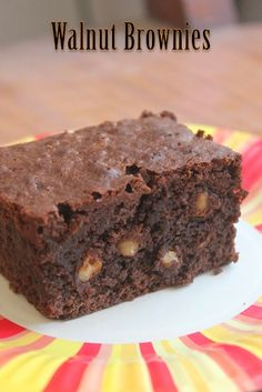 This brownie is one of the best one i ever baked. It has chocolates and walnuts together and makes a perfect combo. The brownie turned o...