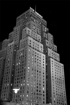 New Yorker Building, New York City.