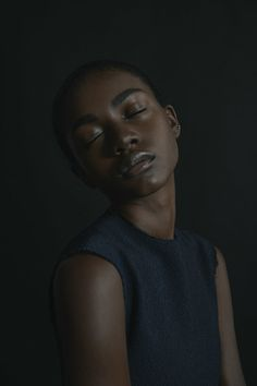 """devoutfashion: """" she wandered down the long corridor, peeking into every room, looking for a familiar feeling photographer: aileen son. the vernacular muse: zuri tibby """""""
