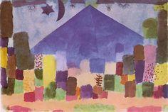 Klee - The Niesen 1915