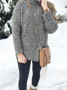 Rolled Turtleneck Sweater - Oh What A Sight To See