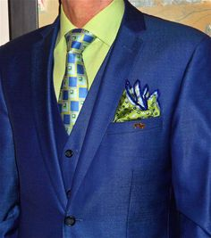 Moods of Norway 3-pc suit, Simon Chang shirt, Ted Baker tie…