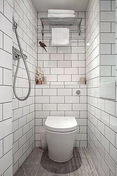 Ikea bathroom design ideas narrow bathroom remodel before and after new bathroom remodel ideas long narrow . Wet Room Bathroom, Garage Bathroom, Narrow Bathroom, Tiny Bathrooms, Tiny House Bathroom, Bathroom Design Small, Diy Bathroom Decor, Bathroom Interior, Bathroom Ideas