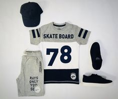 Skate Boy, Game Change, Latest T Shirt, Nike Outfits, Boys T Shirts, Matching Outfits, Boy Shorts, Baby Boy Outfits, Shirt Designs