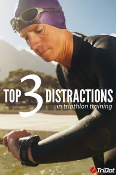 Even in triathlon, distractions are abundant. Avoid the pitfalls of the top 3 distractions in triathlon training