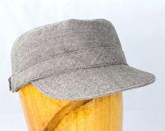 c93a5fa455e Fine sewn hats wool fedora flatcap floppy fab fabrics by CherryPatHats