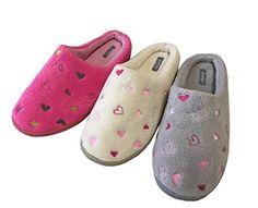 "FITSY Women House Slippers ""Love"" Memory Foam Microterry ... https://www.amazon.com/dp/B01JM8FXQQ/ref=cm_sw_r_pi_dp_x_kGrVybBF09HC8"