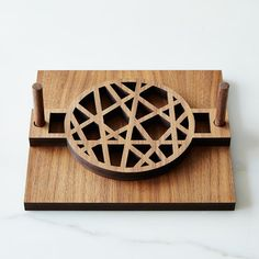 Mid-Century Modern Napkin Holder on Provisions by Food52 Change the top?