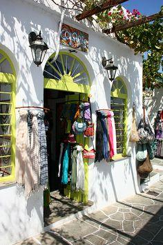 ~Shop in Apollonia, Sifnos~