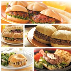 Sandwich Recipes from Taste of Home #Super_Bowl #Recipes